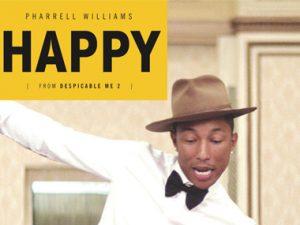 """Pharrell's """"Happy"""" Climbs Up The Billboard Hot 100 Chart"""