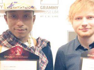 Pharrell, Ed Sheeran Announce 2015 GRAMMY Awards Nominees