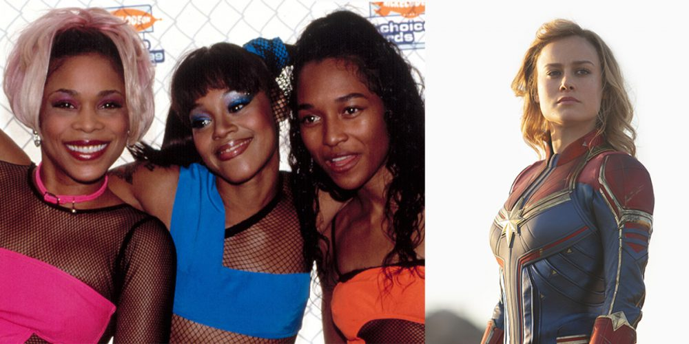 These Were the Hottest Songs in 1995, When Captain Marvel Takes Place